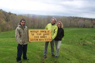 2008 Woodlot Owner of the Year – Eastern Region