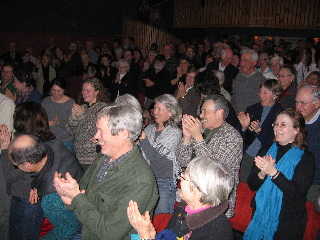 Audience at the screening of Rudy Haase